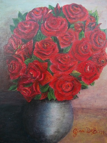 Quadri gallery valueart for Quadri con rose rosse